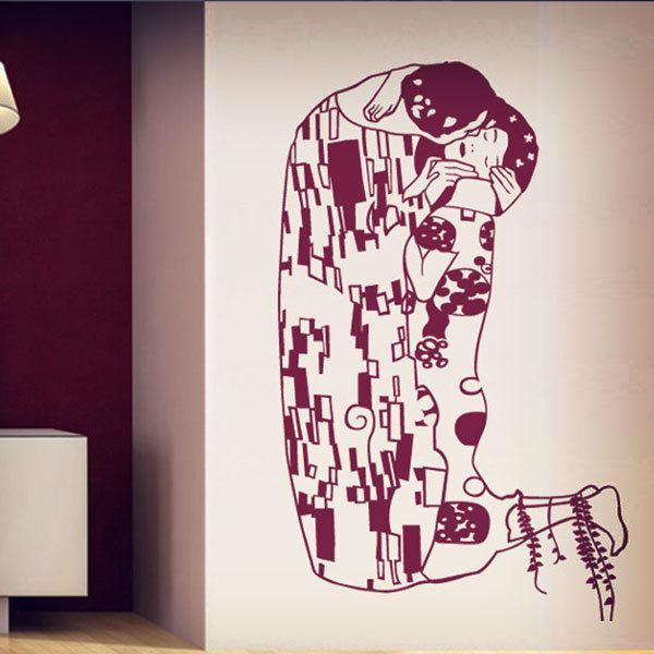 Vinilos Decorativos: El beso de Klimt