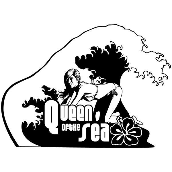 Vinilos Decorativos: La Reina del Mar