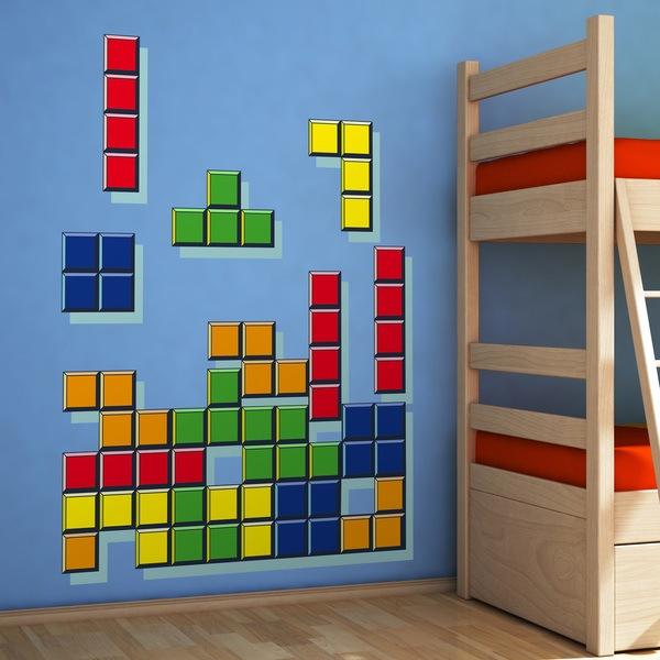 Vinilos Decorativos: Color block