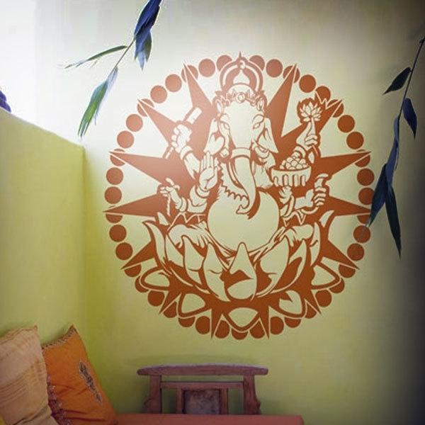 Vinilos Decorativos: Mandala Ganesha