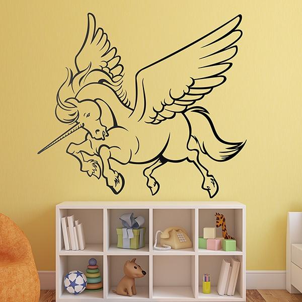 Vinilos Infantiles: unicornio