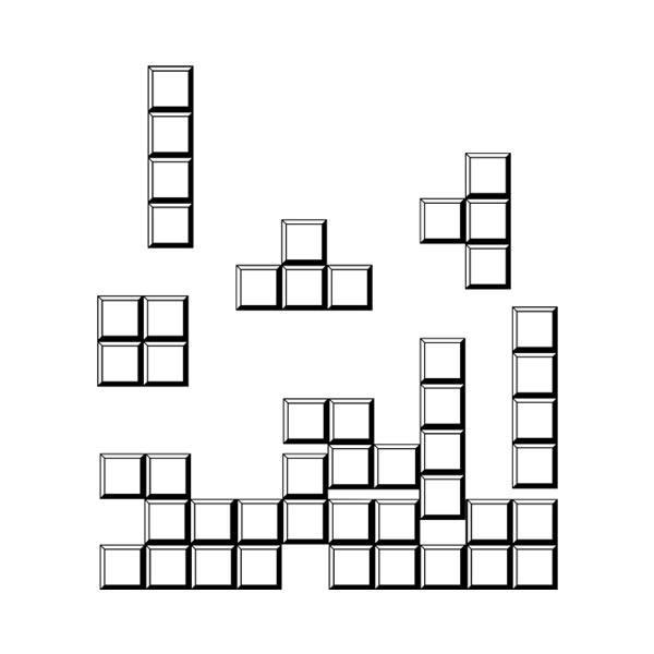 Vinilos Decorativos: Block puzzle