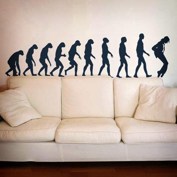 Vinilos Decorativos: Evolution Jackson