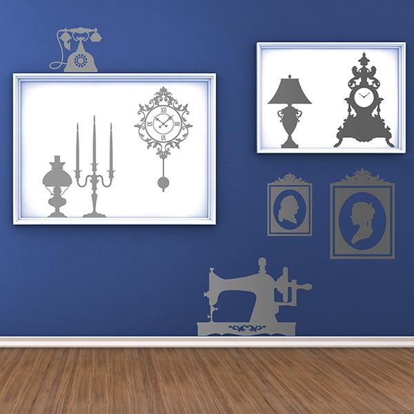 Vinilos Decorativos: kit vintage muebles