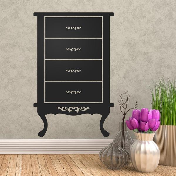 Vinilos Decorativos: Mueble Vintage