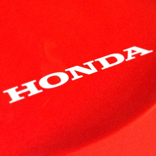 Pegatinas: Letras Honda