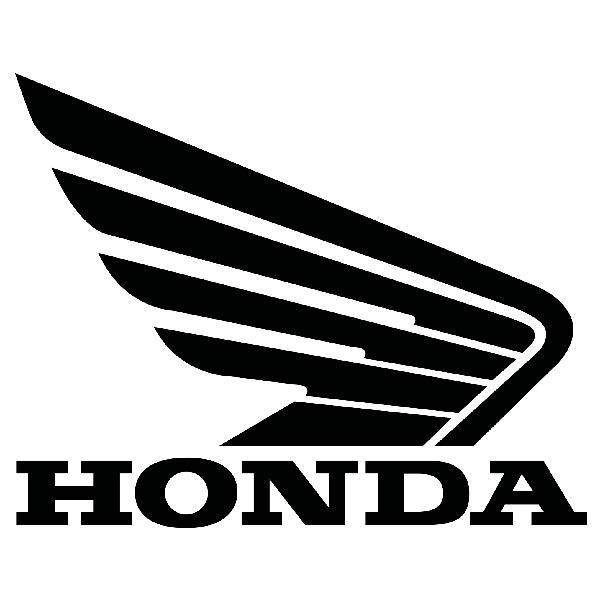 Pegatinas: Ala Honda lateral derecho