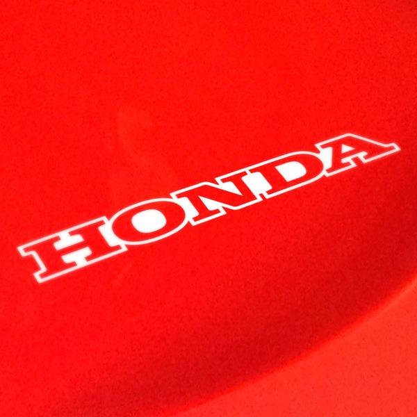Pegatinas: Honda perfil
