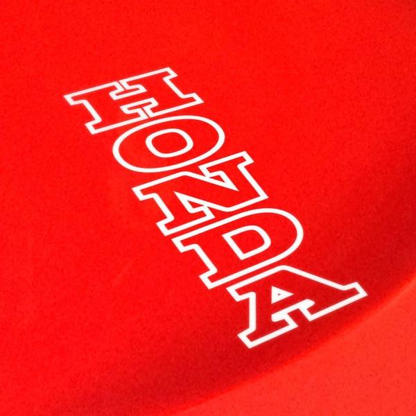 Pegatinas: Honda vertical perfil