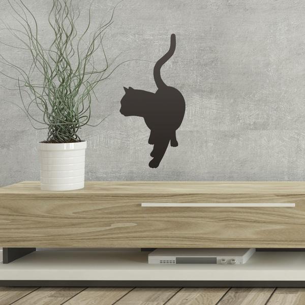 Vinilos Decorativos: Gatito contento