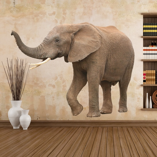 Vinilos Decorativos: Elefante 1