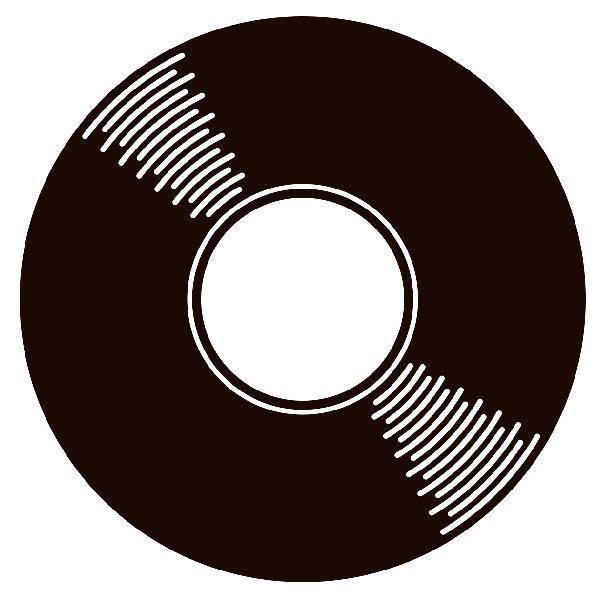 Pegatina disco de vinilo for Pegatinas de vinilo