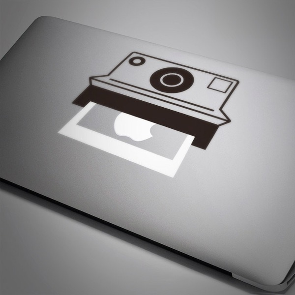 Pegatinas: Cámara Polaroid