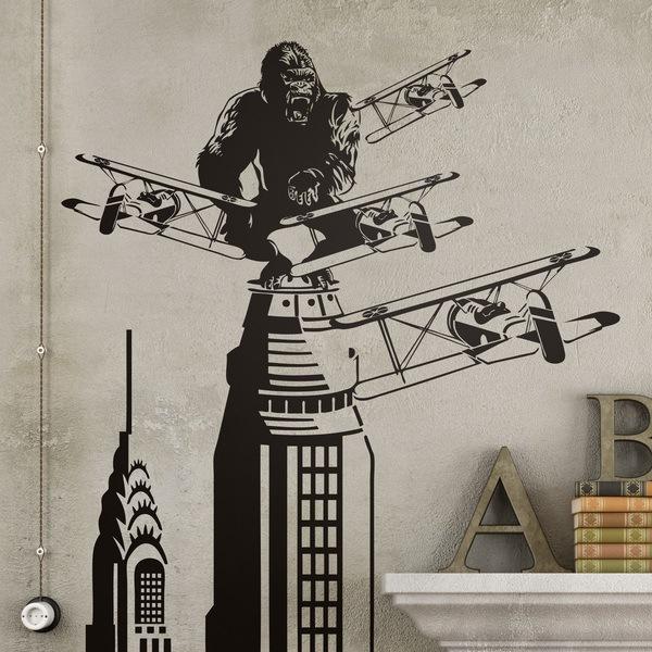 Vinilos Decorativos: King Kong en Nueva York