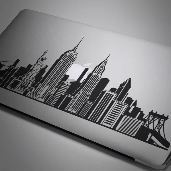 Pegatinas: Skyline de Nueva York