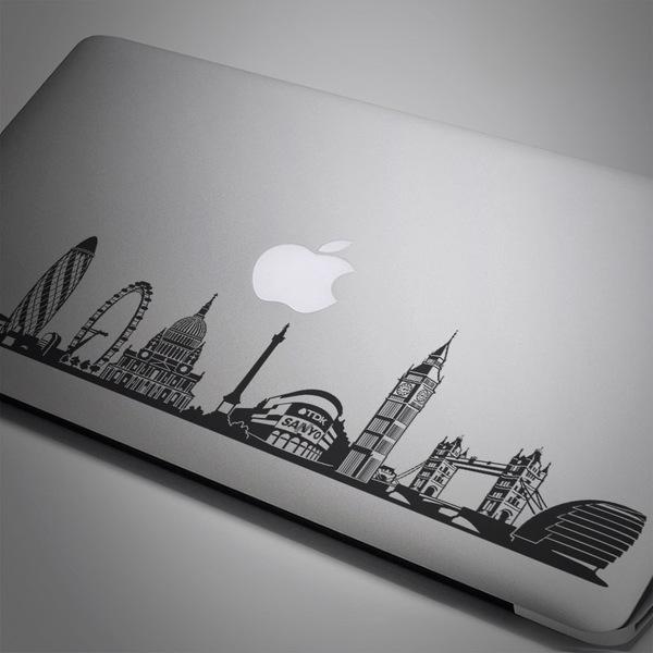Pegatinas: Skyline de Londres