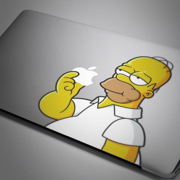 Pegatinas: Homer Simpson