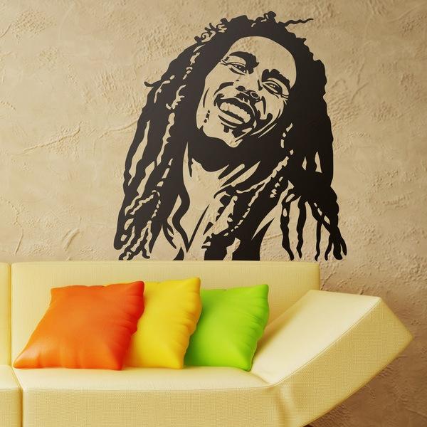 Vinilos Decorativos: Bob Marley