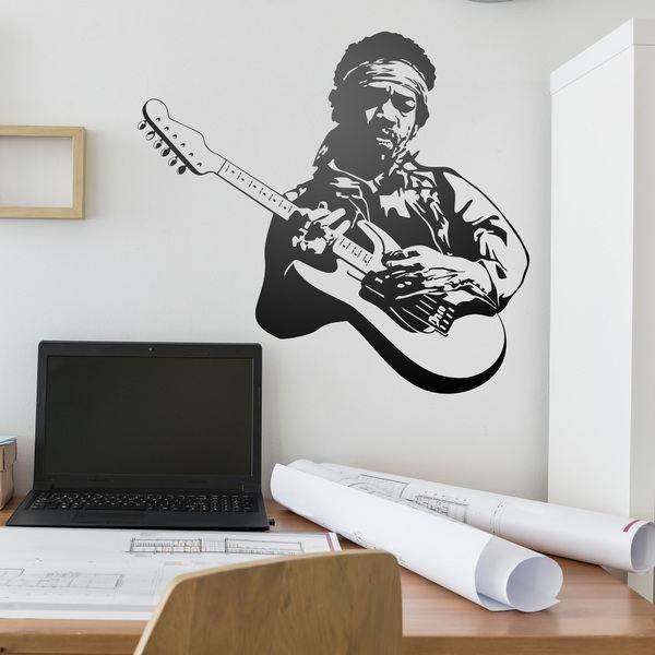 Vinilos Decorativos: Jimi Hendrix