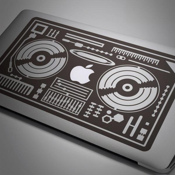 Pegatinas: Mesa de mezclas DJ