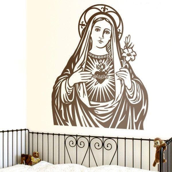 Vinilos Decorativos: Virgen María