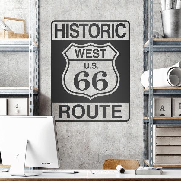 Vinilos Decorativos: Historic Route 66