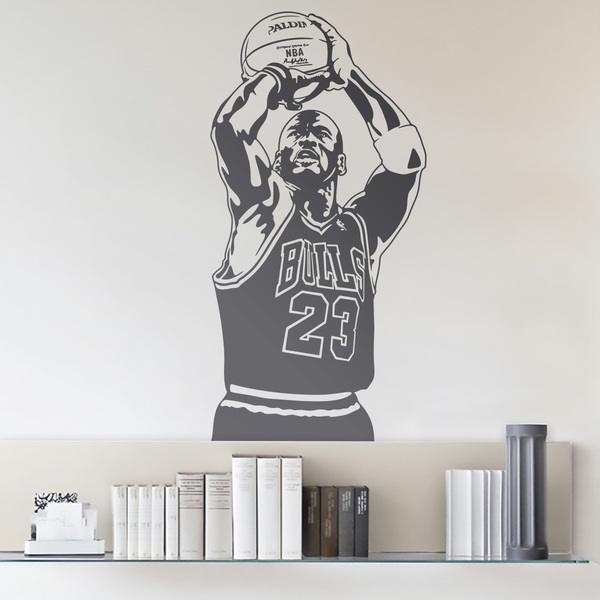 Vinilos Decorativos: Jugador de Baloncesto