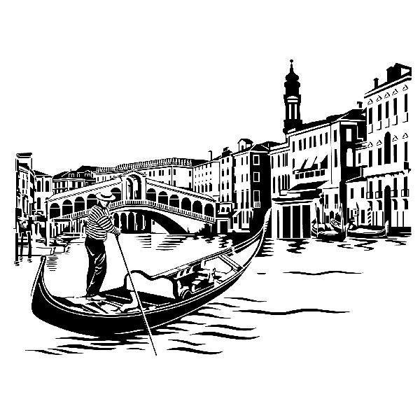 Vinilos Decorativos: Puente de Rialto en Venecia