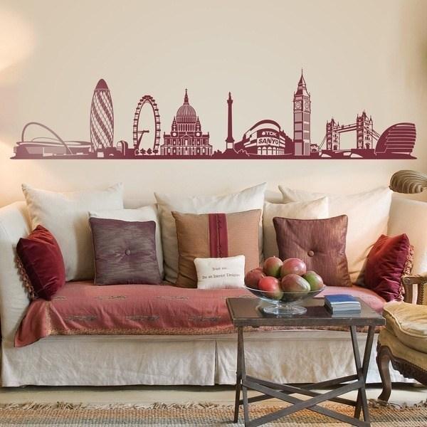 Vinilos Decorativos: Skyline de Londres