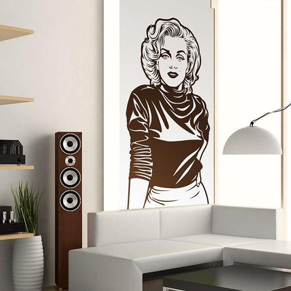 Vinilos Decorativos: Marilyn Monroe