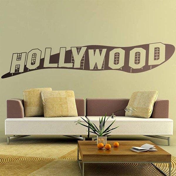 Vinilos Decorativos: Rótulo Hollywood