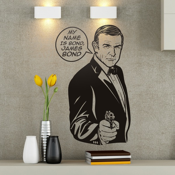 Vinilos Decorativos: My name is Bond, James Bond