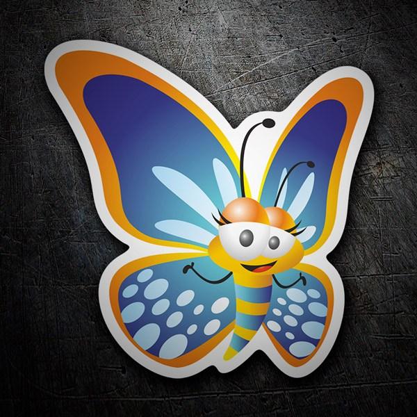 Pegatinas: Mariposa 1