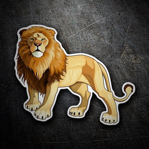 Pegatinas: El rey León