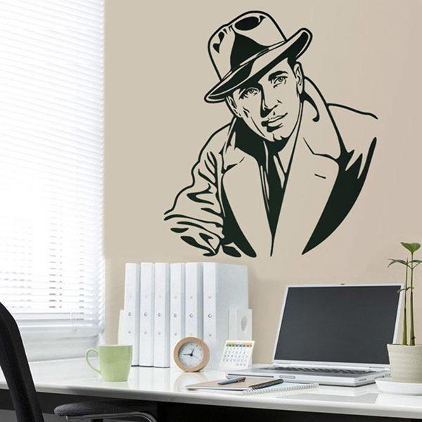 Vinilos Decorativos: Humphrey Bogart