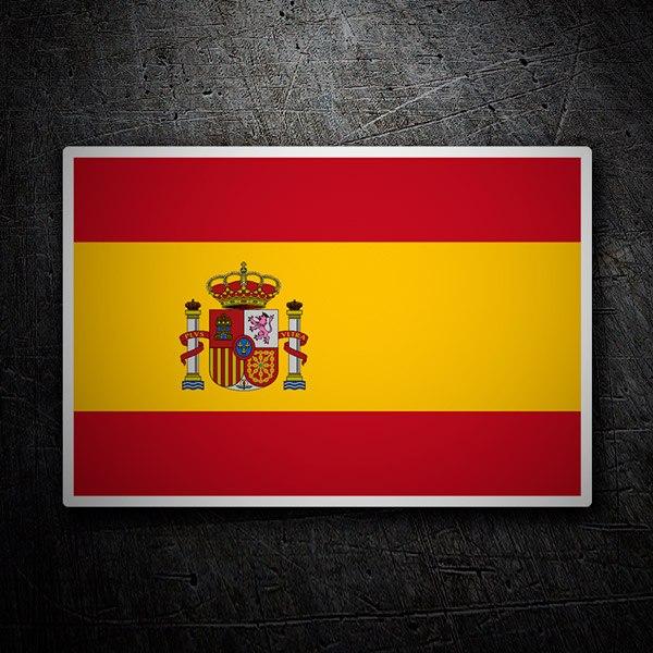 Pegatinas: Bandera de España