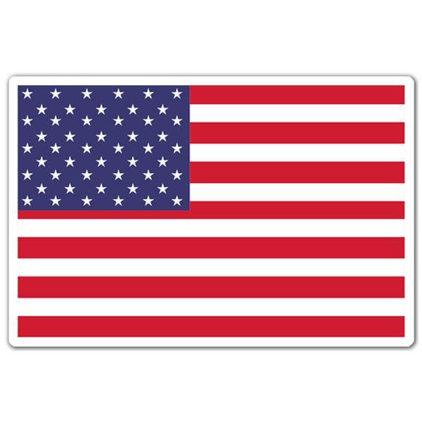 Pegatinas: USA