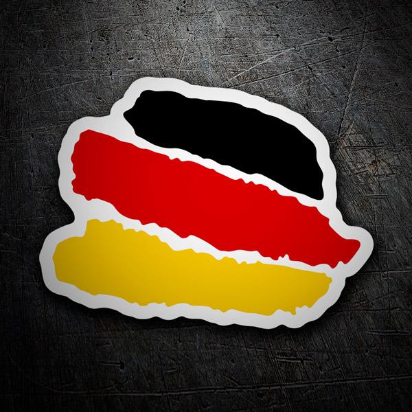Pegatinas: Trazos Alemania