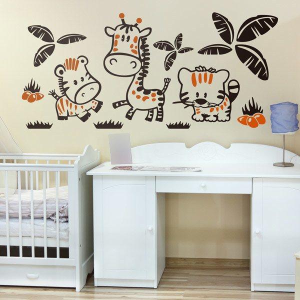 Los vinilos infantiles m s vendidos for Pegatinas habitacion infantil