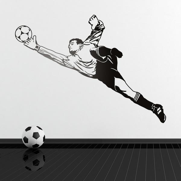 Vinilos Decorativos: Portero de fútbol