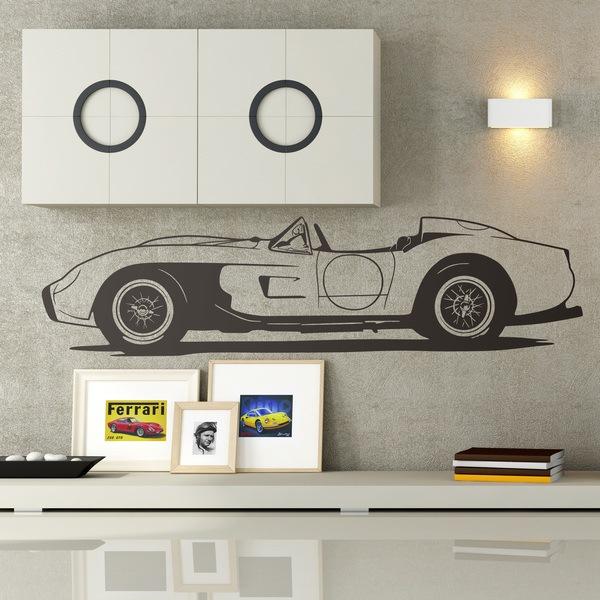 Vinilos Decorativos: Ferrari Testa Rossa 1957