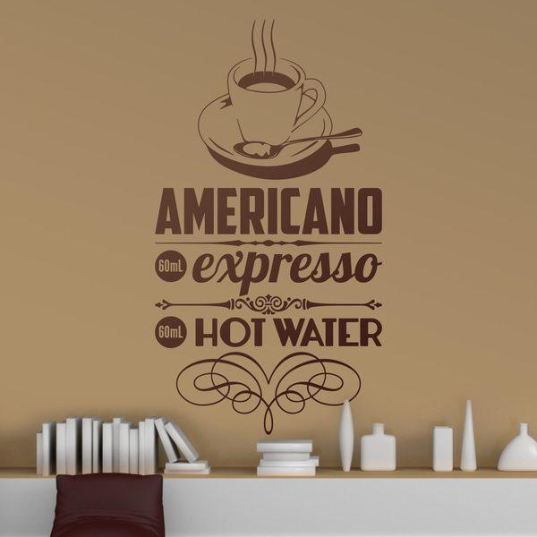 Vinilos Decorativos: Café Americano