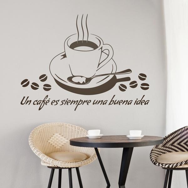 Vinilos Decorativos: Un café es siempre una buena idea