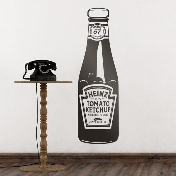 Vinilos Decorativos: Ketchup Heinz