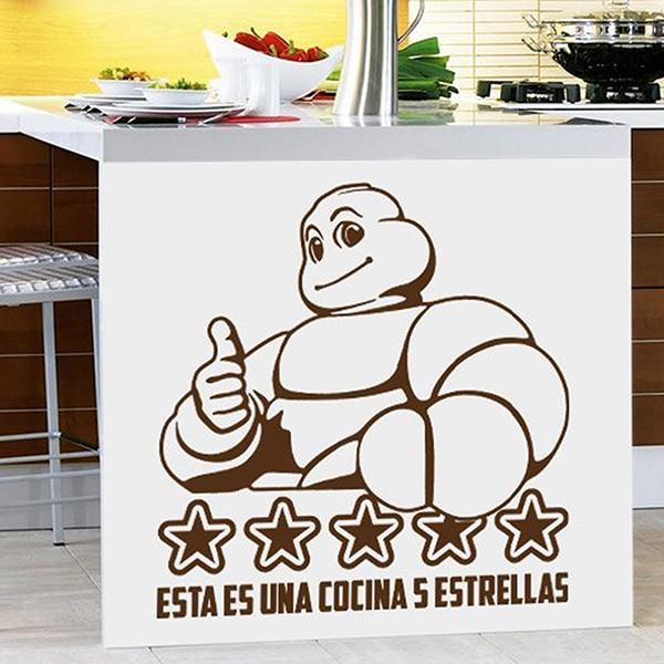 Vinilos Decorativos: Esta es una cocina 5 estrellas
