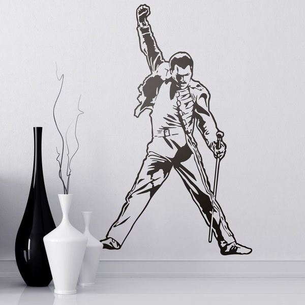 Vinilos Decorativos: Freddie Mercury