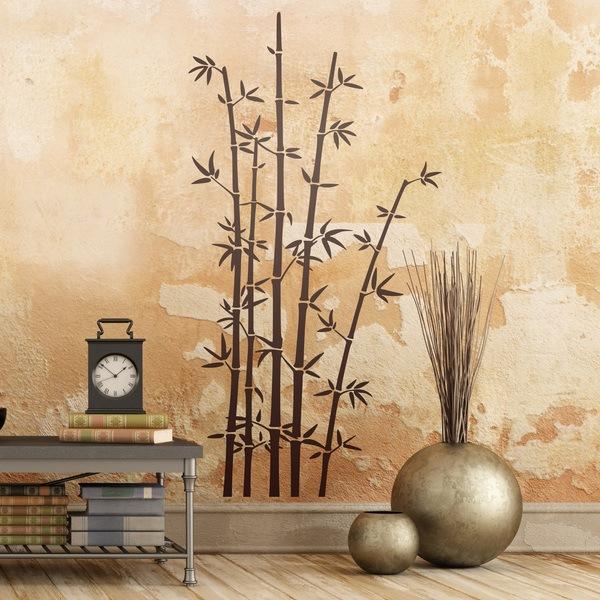 Vinilos Decorativos: Árbol Cañas de Bambú