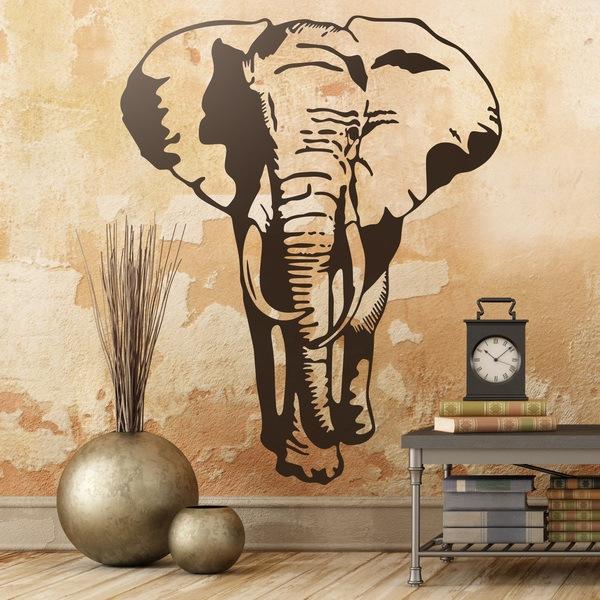 Vinilos Decorativos: Elefante