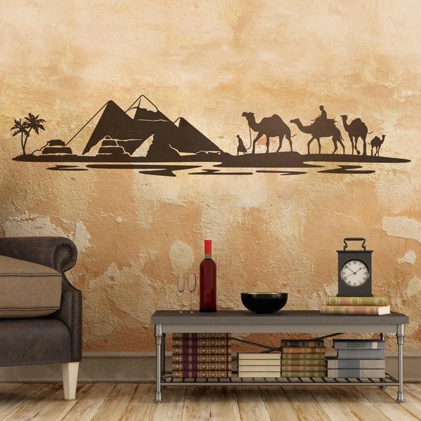 Vinilos Decorativos: Pirámides en el desierto