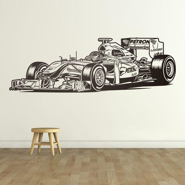 Vinilos Decorativos: Fórmula 1